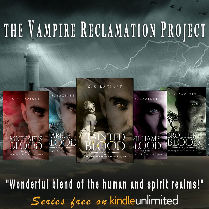 A Vampire Reclamation Tale!  https://www. amazon.com/gp/product/B07 BRW6B98/ &nbsp; …  THE VAMPIRE RECLAMATION PROJECT (5 Book Series) #Free in #KindleUnlimited #IARTG #bookdeals #Selfworth<br>http://pic.twitter.com/Dc5UiyEet9
