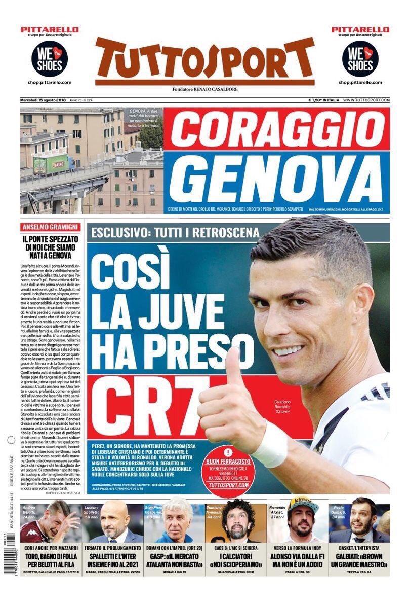 I retroscena del grande colpo #Ronaldo della @juventusfc  - Ukustom