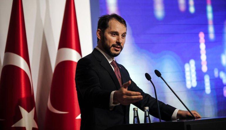 Turkey&#39;s Treasury and Finance Minister @BeratAlbayrak to address foreign investors [on August 16].  http:// bit.ly/2PaUZU8  &nbsp;  <br>http://pic.twitter.com/9uFjXyOX9B