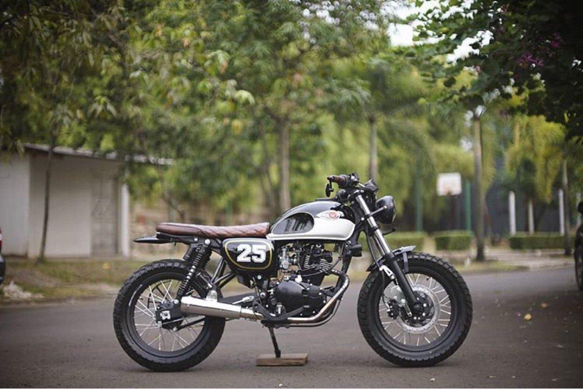 Kawasaki W Series Indonesia On Twitter W175 Custom Street