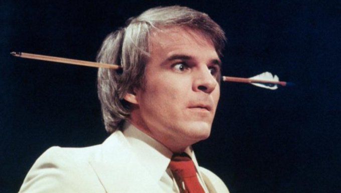 Happy Birthday to funnyman Steve Martin