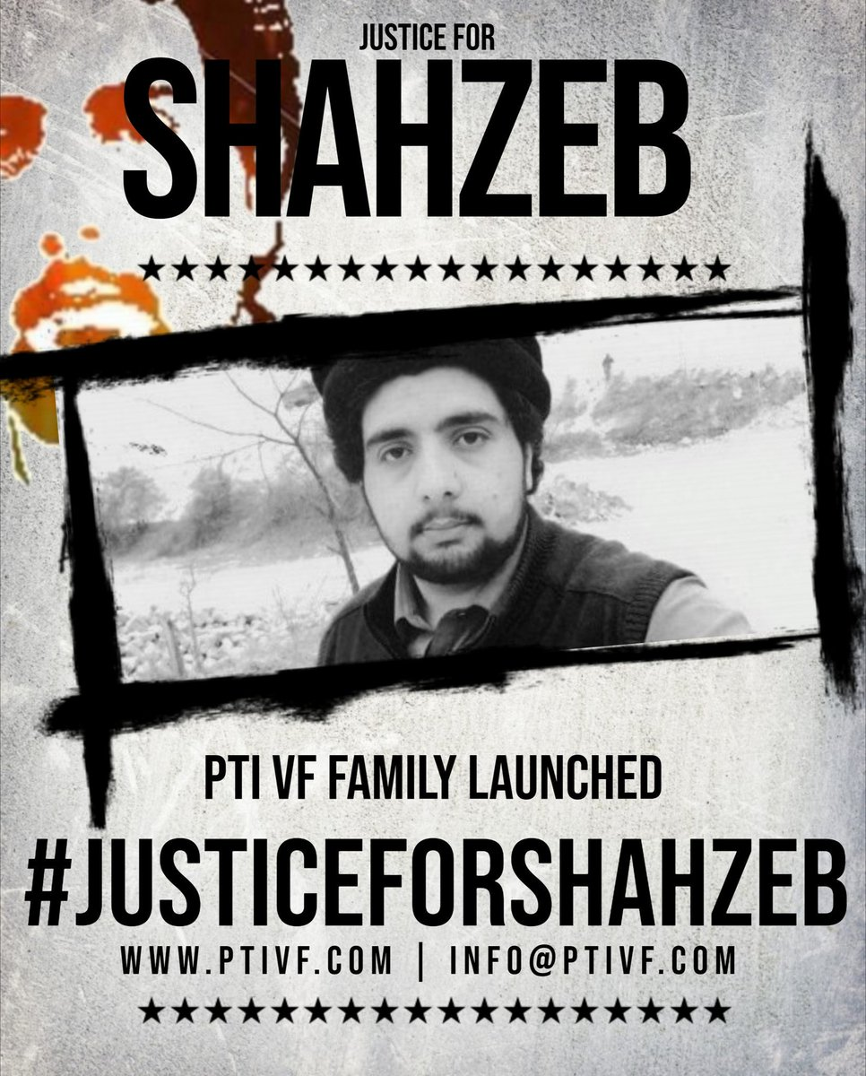 His blood was spilled in a broad daylight. He embraced martyrdom infront of thousands. His blood demands justice. He blood demands a fair trial. His blood demands the prosecution of culprit.#JusticeForShahZeb<br>http://pic.twitter.com/ItB1EbnGdZ