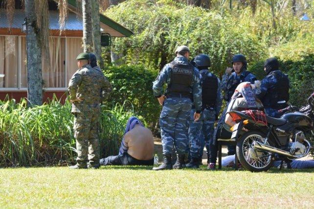 Tres paranaenses detenidos con tres kilos de cocaína en la casa de un temible sicario