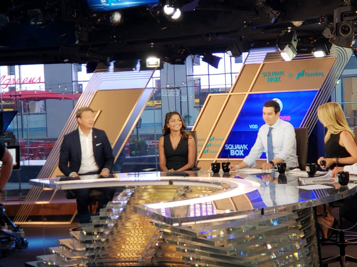 Exciting day !!! Talking to @SquawkCNBC about @verizon 4th. 5G home broadband city Indianapolis and partnership with @YouTubeTV and @AppleTV. @VZUpToSpeed.<br>http://pic.twitter.com/lqw4WnVN1t