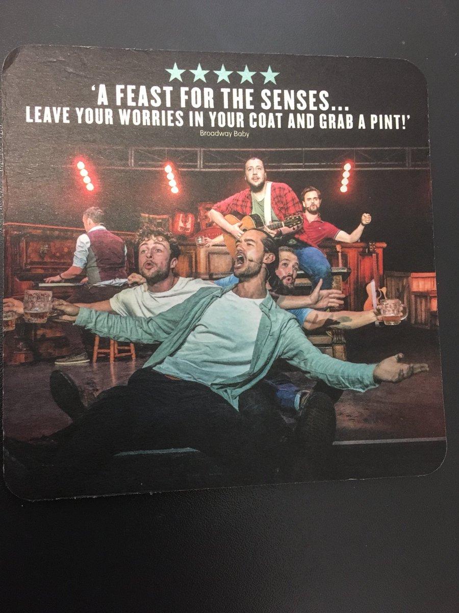 Choir of Man - great fun . Go see it @choirofman @edfringe<br>http://pic.twitter.com/YbG1QKsJlf