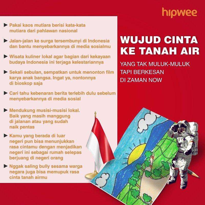 Kata Kata Bijak Cinta Tanah Air Indonesia