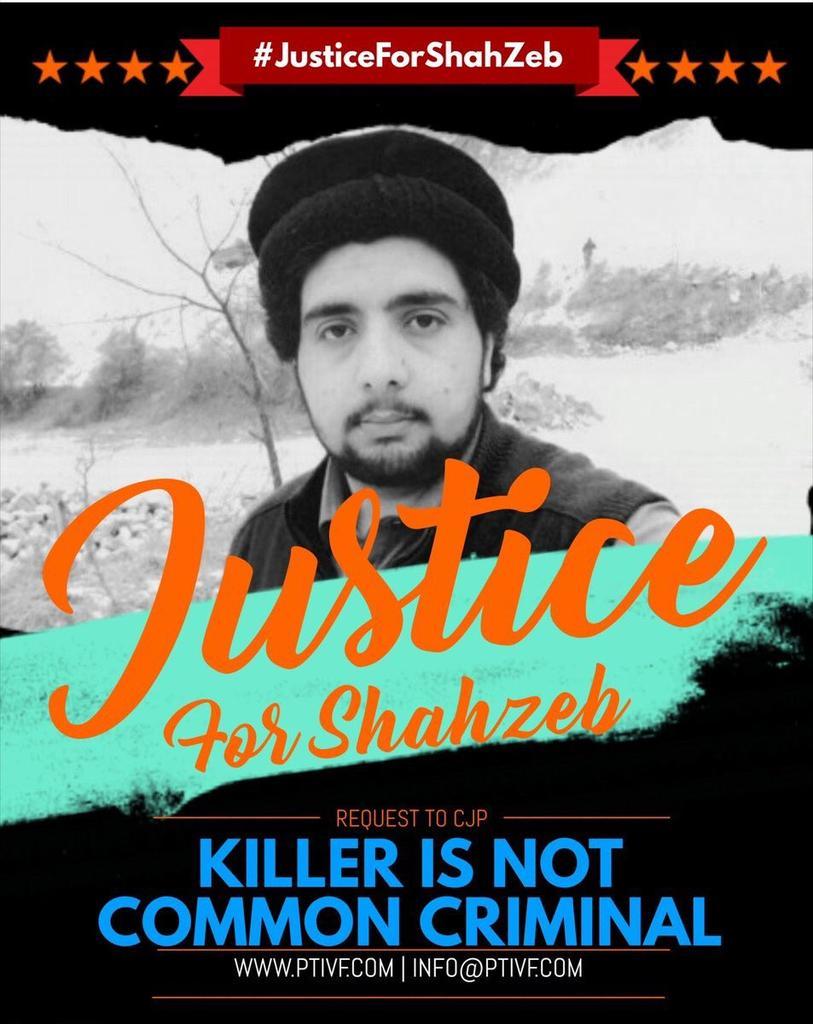 ShahZeb sacrified his life for Naya Pakistan. His family should demands insaf  #JusticeForShahZeb<br>http://pic.twitter.com/E6JGaXwOad