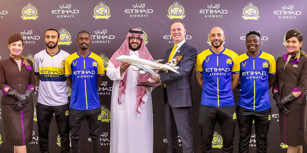 We're excited to announce the official signing and partnership with @AlNassrFC. Let the games begin! #EtihadxAlNassr #AlNassr