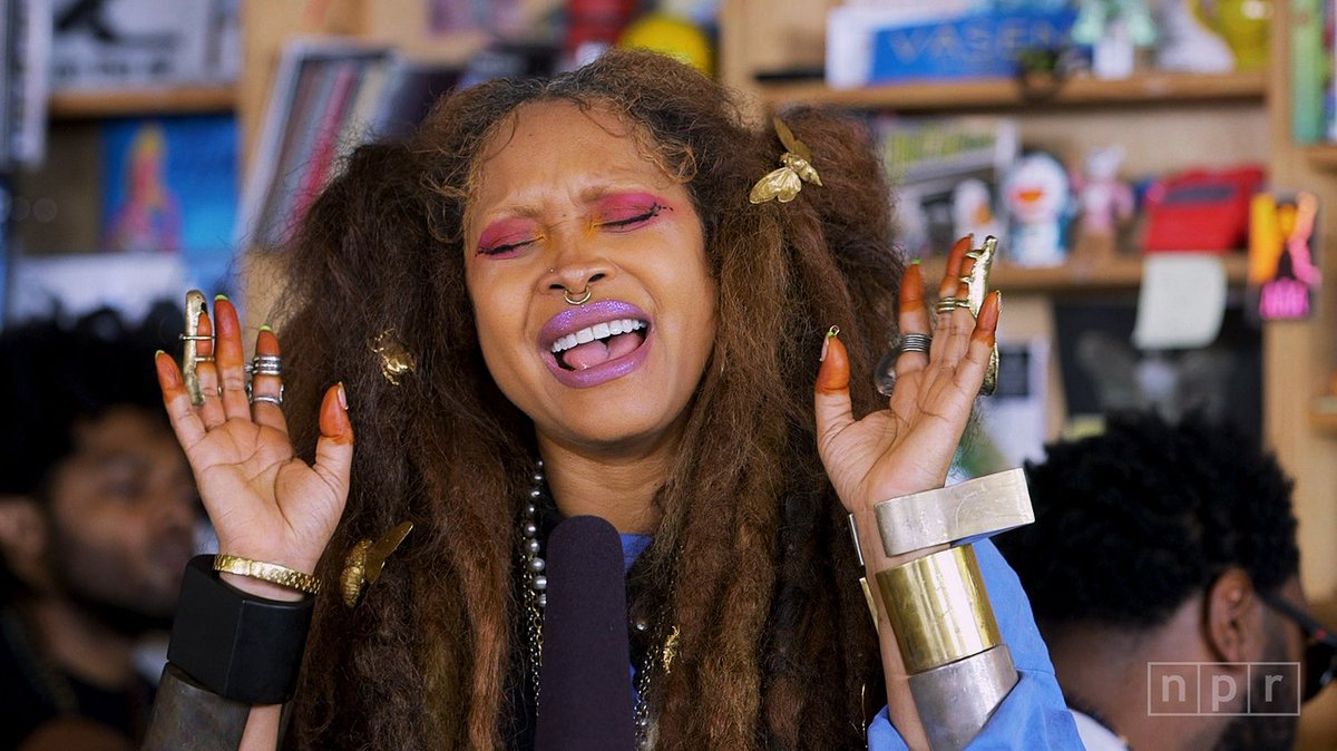 Reloaded twaddle – RT @nprmusic: Erykah Badu's (@fatbellybella) performance at the #TinyDesk was an...