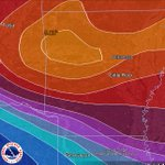Image for the Tweet beginning: Arkansas 7 Day Rainfall Outlook