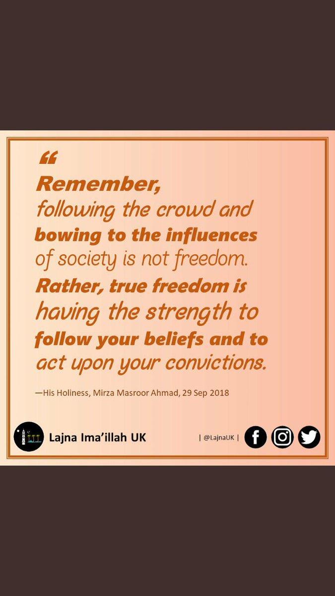 ahmadiyyamuslimcommunity hashtag on Twitter