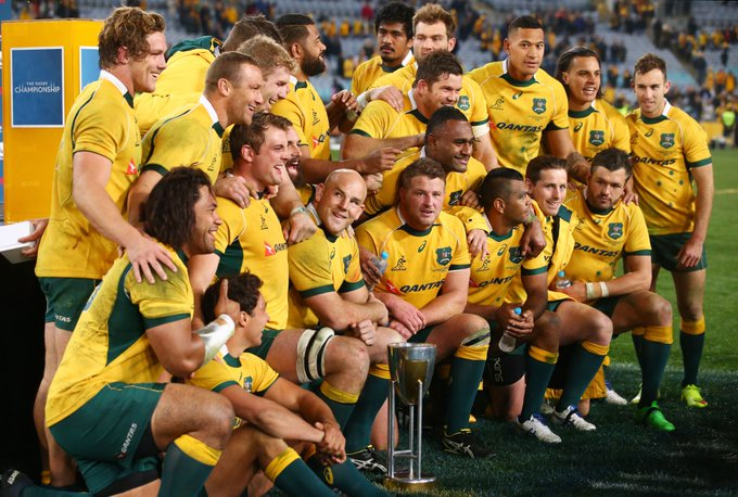 🇳🇿 #TheRugbyChampionship 2018: AUSTRALIA 🇳🇿 Today is all about the @qantaswallabies: stick around for all things green and gold, ahead of #AUSvNZL this weekend. Where will the 🦘 finish this year? ⬇️ VOTE BELOW ⬇️ Photo