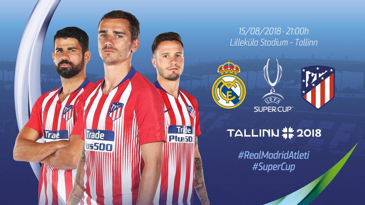 Atlético de Madrid's photo on Lilleküla Stadium