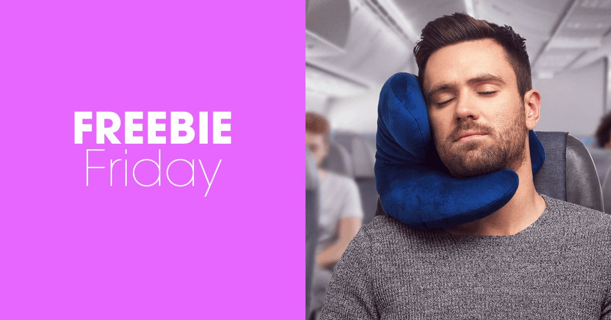 #FreebieFriday #win a J-pillow Travel Pillow! For your chance to enter, simply RT &amp; follow @homestylemaguk and @JpillowTravel - good luck! Find out more here:  https:// bit.ly/2FW4CnZ  &nbsp;  <br>http://pic.twitter.com/X1Q0XzQ53d