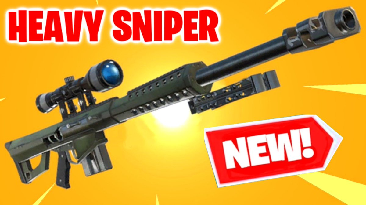 Live with the new Fortnite Heavy Sniper in a few! gaming.youtube.com/c/Vikkstar123/…