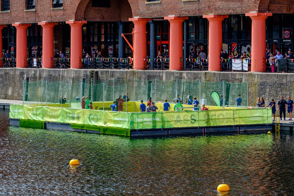 The #LFCFoundation will be down at the waters of Albert Dock today from 11AM!   There&#39;s a variety of activities for families to join in with, including the popular &#39;Open Goals&#39; sessions!   Check out what we&#39;re up to today    https:// bit.ly/2M3G9jy  &nbsp;  <br>http://pic.twitter.com/7Zwqk9e6VM