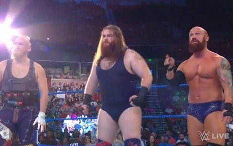 I find the sight of Dain wearing a singlet more offensive than what I'm sure Vince finds offensive in a topless Dain. Is Vince really still like this in 2028?! #SDLive Photo