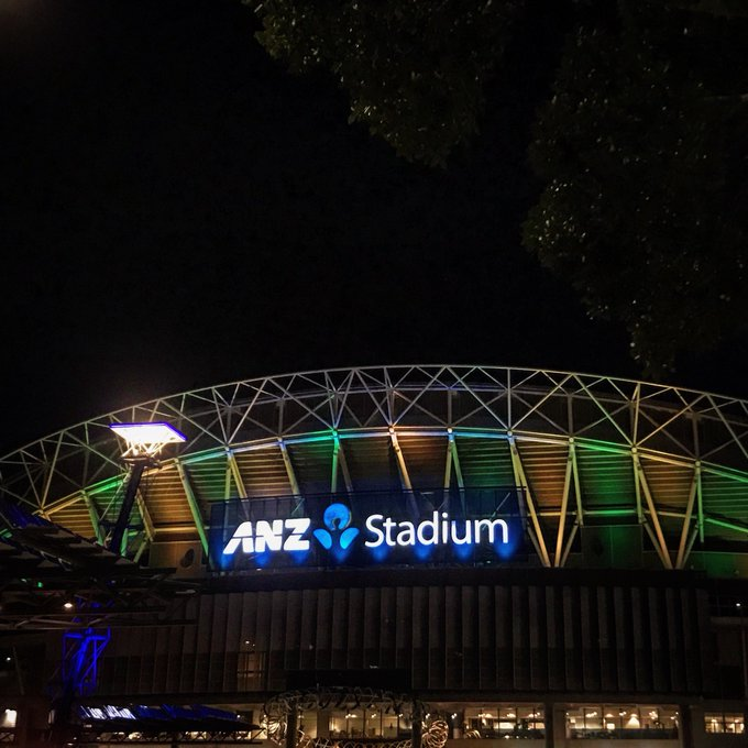 GREEN? ☑️ Gold? ☑️ We got our Aussie best on for the #BledisloeCup double-header this Saturday! #AUSvNZL Photo