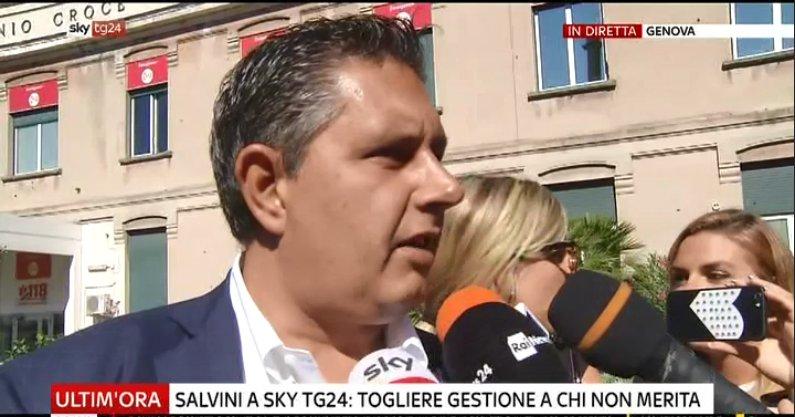 #UltimOra Crollo ponte #Genova, Toti: servono investimenti importanti #canale50 http://sky.tg/m8cyy  - Ukustom