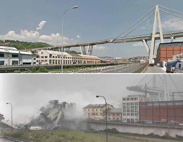 Más de 30 muertos y 16 heridos en el derrumbe de un viaducto en Génova eldiario.es/internacional/…