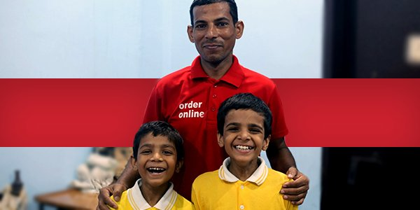 Meet Vimal Kumar, one of the 50,000+ unsung heroes who&#39;d miss their meal to deliver yours.  This Independence Day, we&#39;re taking a step ahead with you to empower them better – for each tip you add until 31st August when you order online on Zomato, we'll double it up for them.  <br>http://pic.twitter.com/xp8LvhRCmV