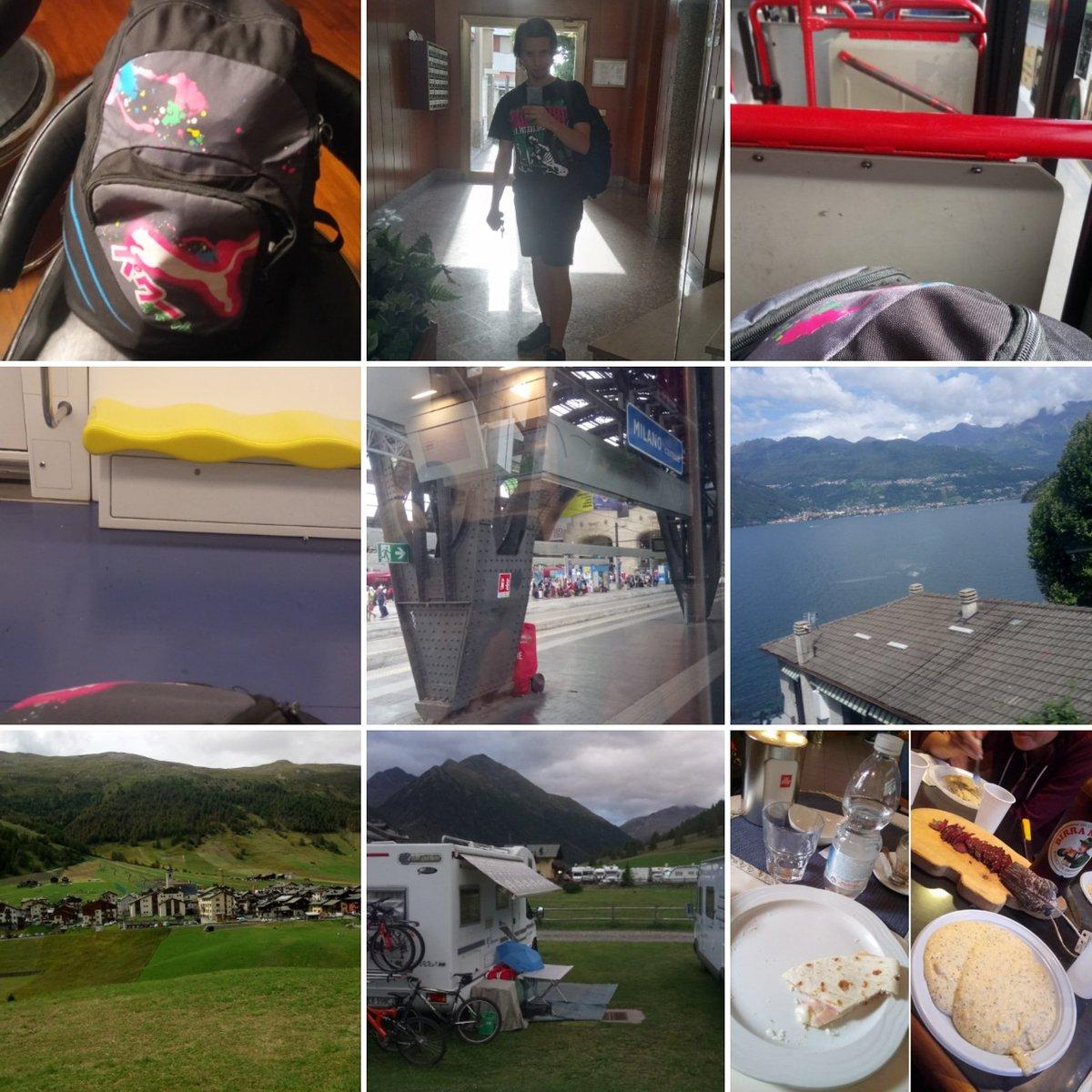 Giornata di ieri, #viaggio di andata #Fizzonasco - #Livigno!#Ferragosto #vacanze #sondrio #Valtellina #Lombardia #inlombardia #regionelombardia #relax #montagna #treno #lago #sudmilano #Milano #Milan #famiglia #camper #campeggio #camping #bus #lagodilecco #lecco #trenord  - Ukustom