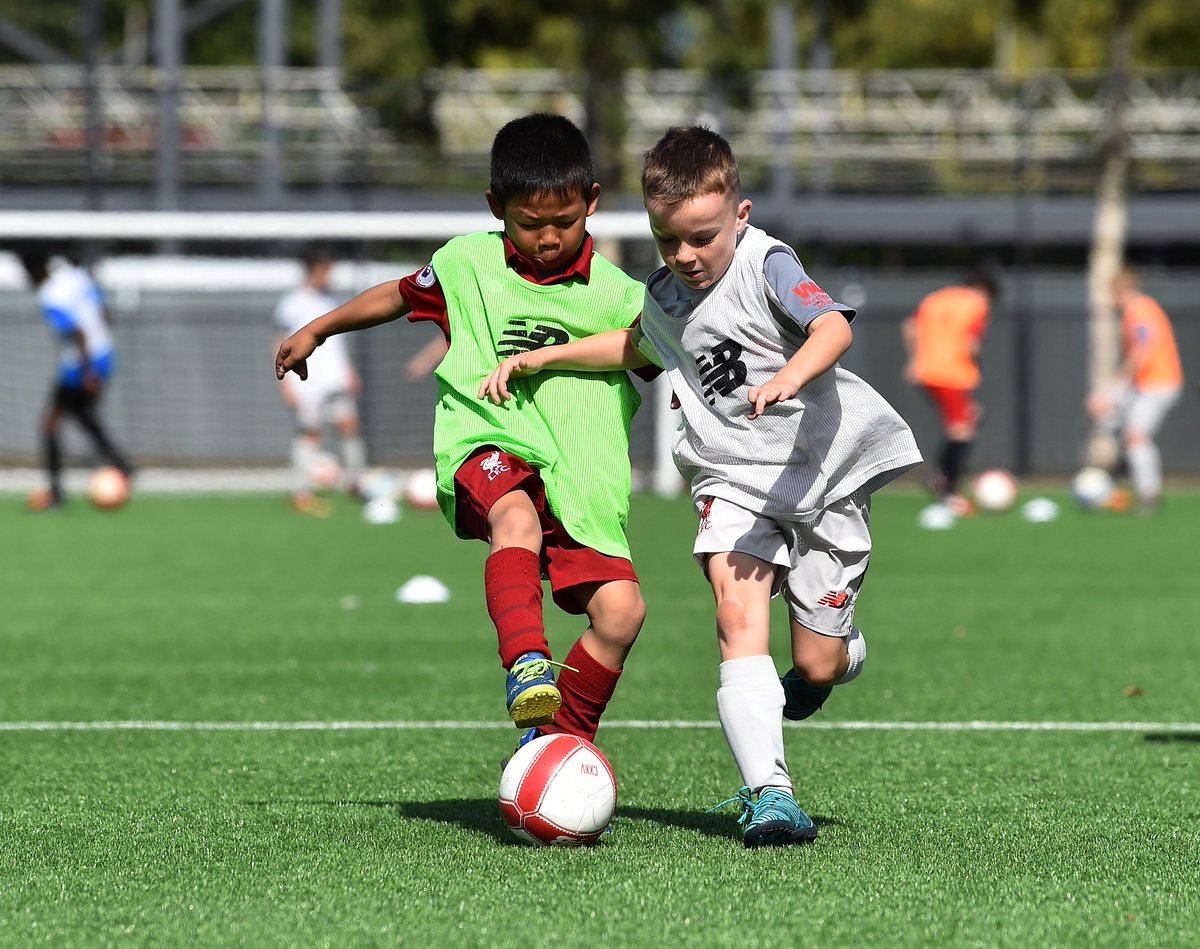 Learn to play the Liverpool Way this summer at the #LFC Academy in Kirkby. 🔴⚽  Book now 👉 https://t.co/cONirYRgPb