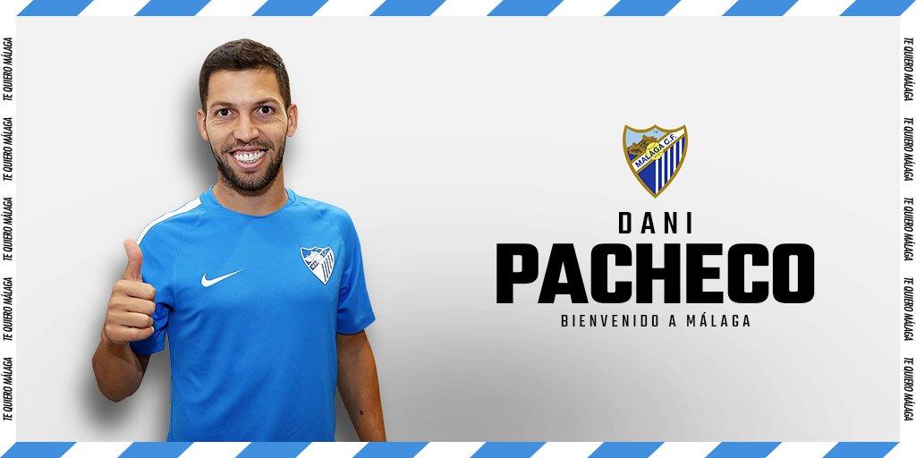Málaga CF's photo on Dani Pacheco