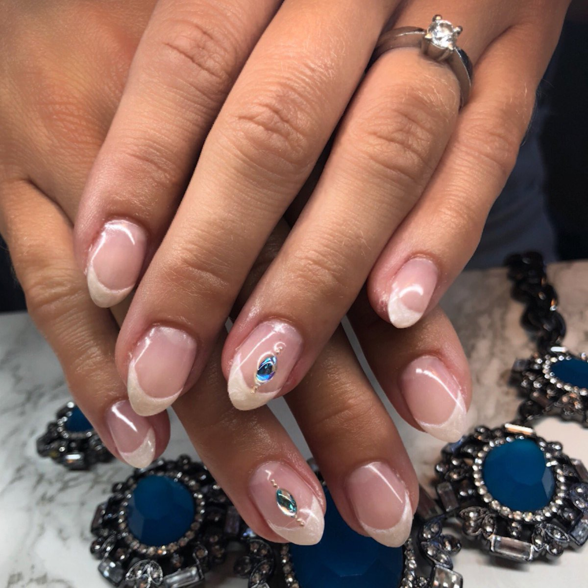 French Manicure Nail Art 2018- HireAbility