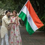 Image for the Tweet beginning: Happy Independence Day 🇮🇳🙏 @Varun_dvn @yrf