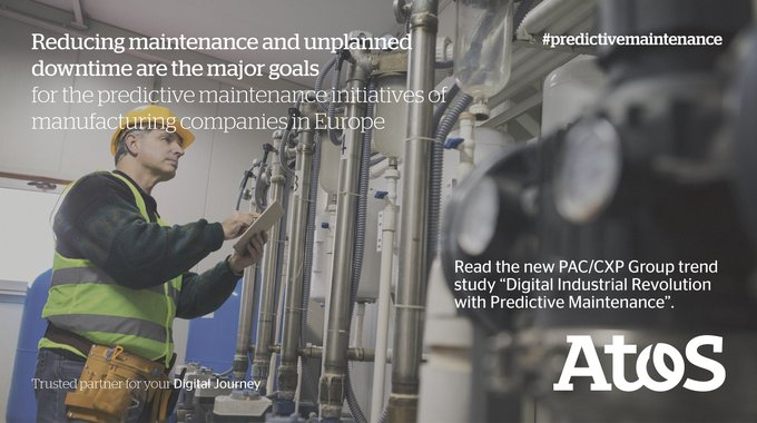 #Predictivemaintenance is an integral part of #digitaltransformation of #manufacturing...