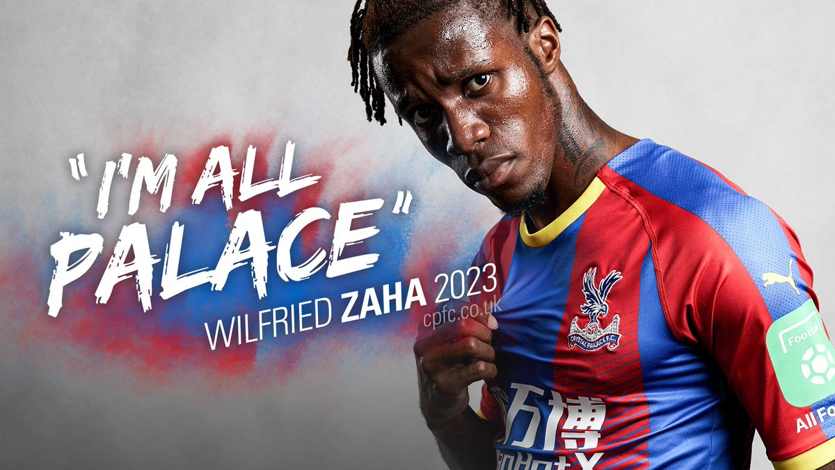 HE&#39;S ALL PALACE!  We&#39;re delighted to announce that @wilfriedzaha has signed a contract extension, keeping him at #CPFC  until   More:  https:// bit.ly/2P84rYx  &nbsp;  <br>http://pic.twitter.com/PRpNMuGVob