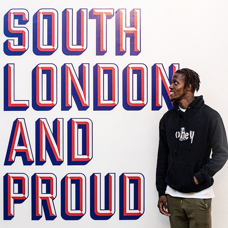 South London and proud. Very happy to have signed a new contract with @CPFC  #CPFC #GodIsGreat<br>http://pic.twitter.com/r3OmiVobw8