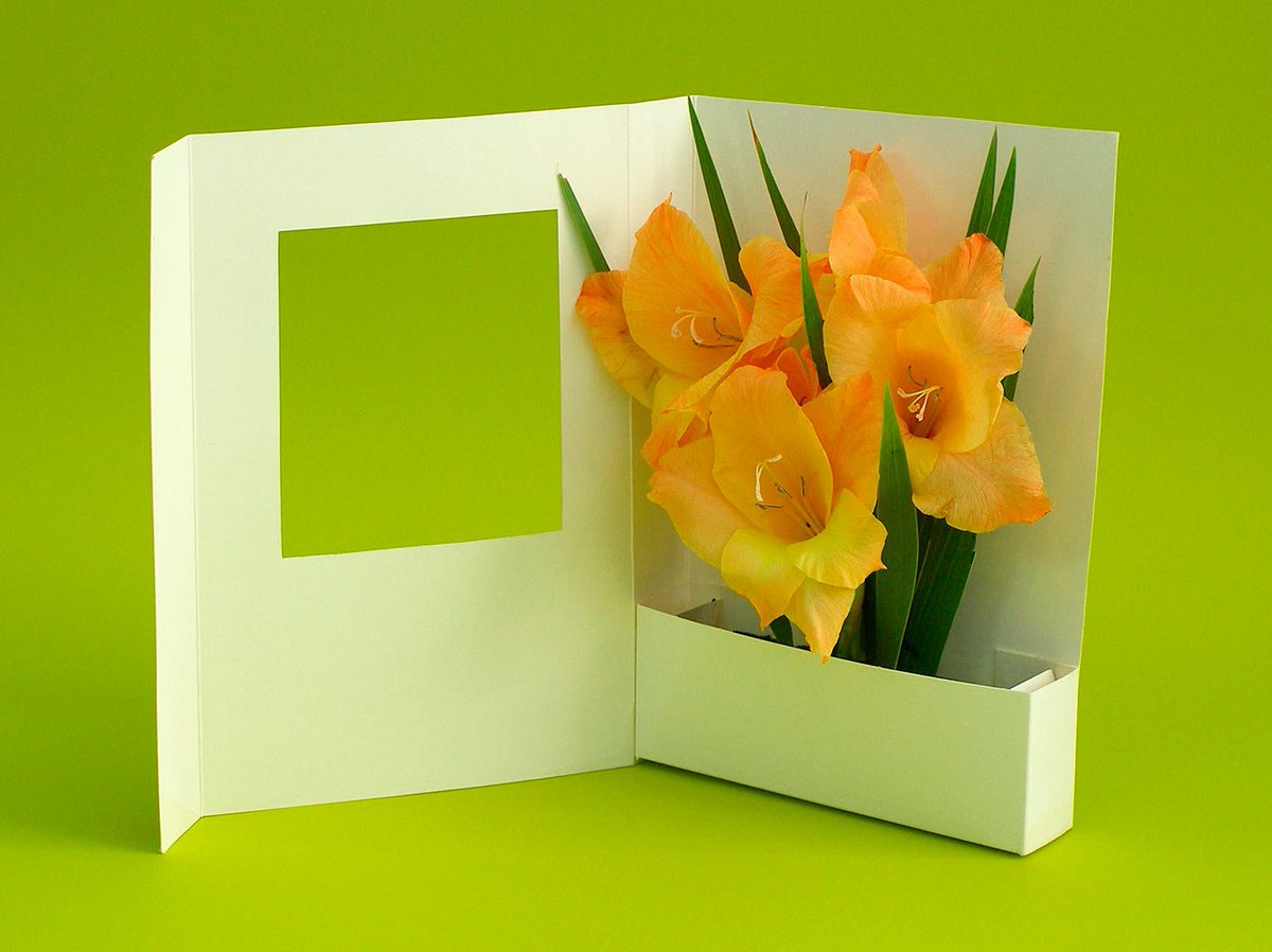 Открытка для мамы своими руками объемные цветы