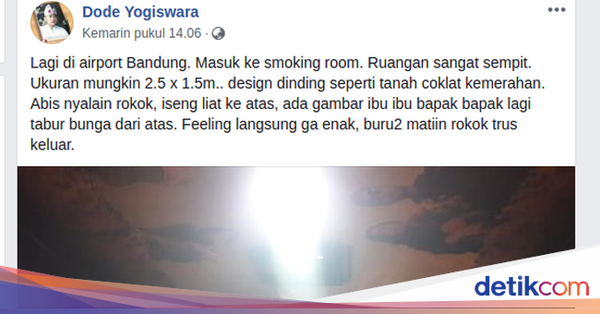 Kalau kamu ditantang merokok di smoking room 'kuburan' ini, yakin berani? https://t.co/79eDhUEzDQ via @detikHealth https://t.co/QhHnfoKGZ7
