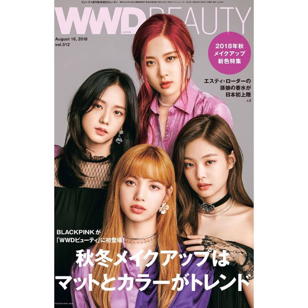 BLACKPINK for Japanese magazine WWD Beauty talking about their makeup and beauty tips. On sale on August 16. <br>http://pic.twitter.com/o07kYNa67o