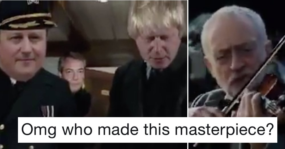 This Brexit-Titanic mash-up will make your day better https://t.co/fLKKhhTQX3