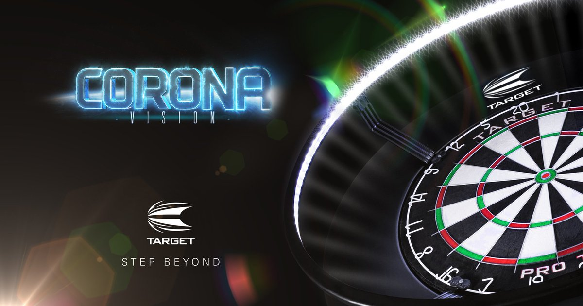 #WednesdayWisdom Its easier (and more satisfying) to hit what youre throwing at, if you can actually see your board properly. The #CoronaVision provides clear, consistent, and shadow-free lighting for your dartboard.