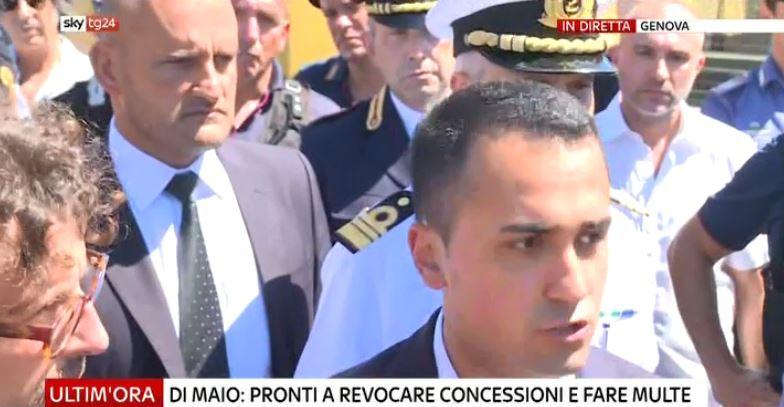 #UltimOra Crollo #Genova, #DiMaio: pronti a revocare concessioni e fare multe, non faremo da palo a chi doveva fare manutenzione #Canale50 http://sky.tg/mNKa3  - Ukustom