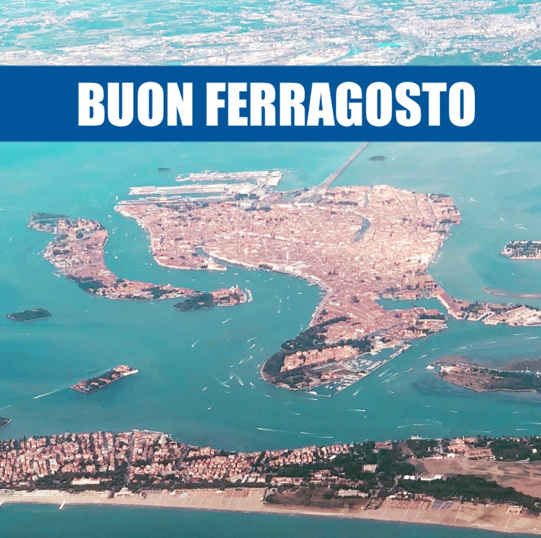 Buon ferragosto! #Italia  - Ukustom
