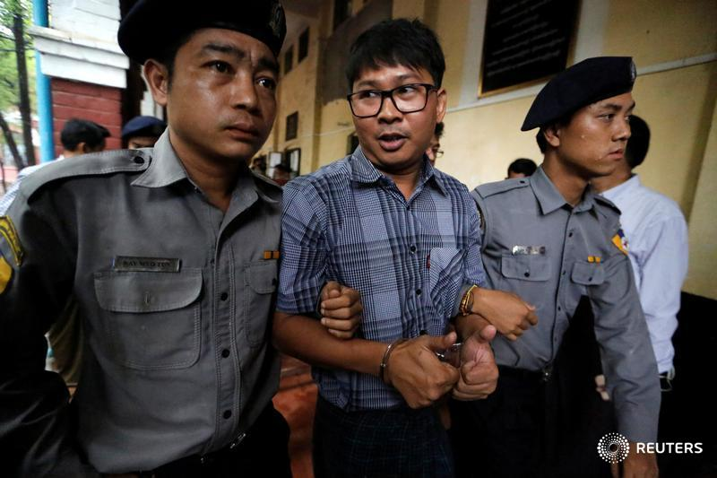 Two @Reuters journalists have been detained in Myanmar for 247 days. See full coverage: https://t.co/DLLeItKfQj https://t.co/vyd4mrimvc