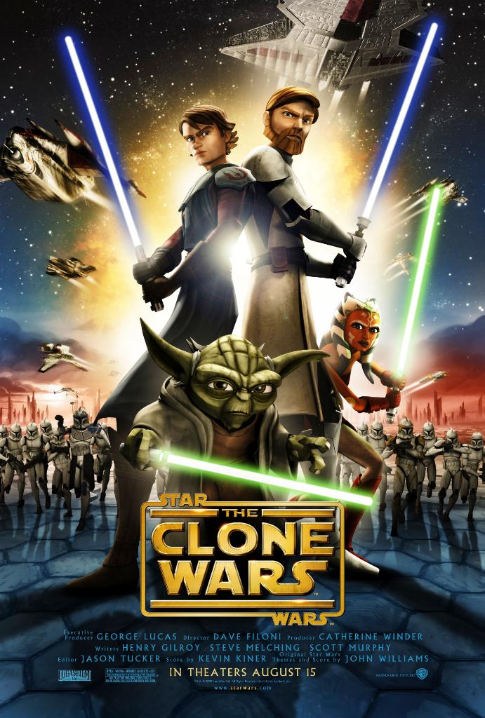 Ten years ago today, @TheCloneWars animated feature film was released in theaters. A galaxy far, far away would never be the same.