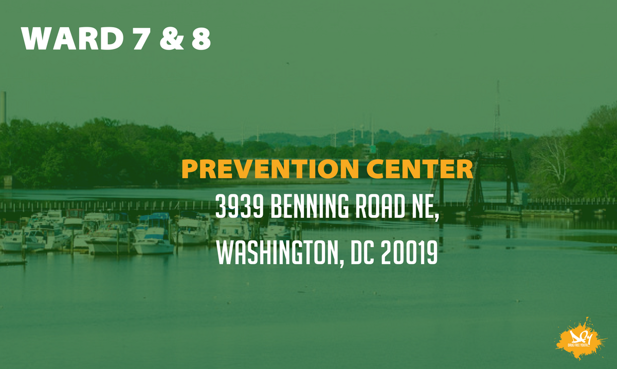 Addiction can be a hard fight to battle, but you don't have to battle it alone. Do you live in Wards 7 or 8? Visit @Wards78DCPC for support.