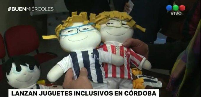 #BuenMiércoles Lanzan juguetes inclusivos Photo