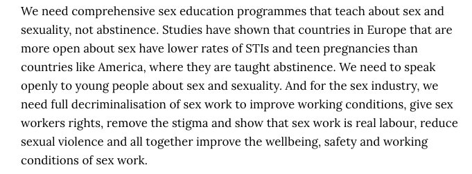 the need for a comprehensive sex Comprehensive sex education (cse) is a sex education instruction method based on-curriculum that aims to give students the knowledge, attitudes, skills and values to make appropriate and healthy choices in their sexual lives.