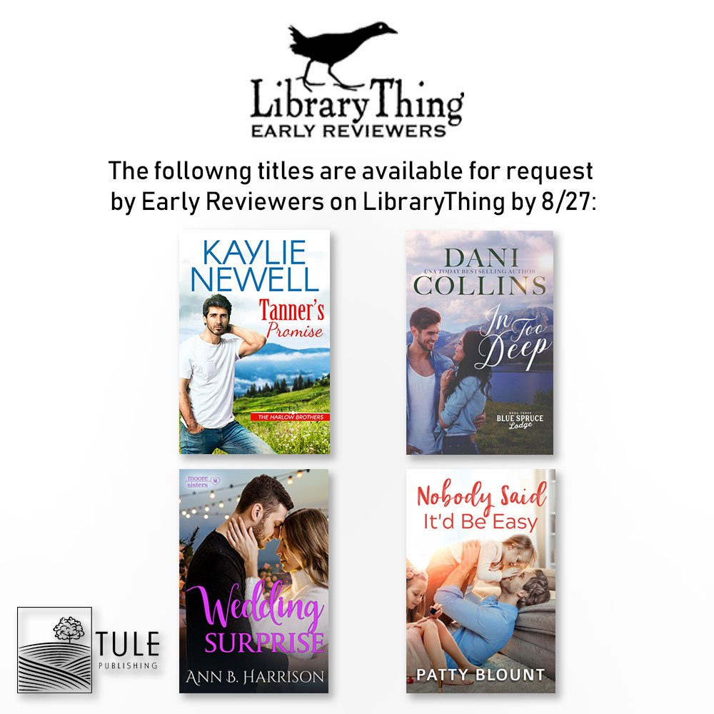.@LibraryThing members! Our Early Reviewer books are up for grabs, request them by 8/27! @KaylieNewell @DaniCollinsBook @AnnBHarrison @PattyBlount  http:// bit.ly/2MoRVFh  &nbsp;   #readztule #bookgiveaway<br>http://pic.twitter.com/ISlvrZgLpl