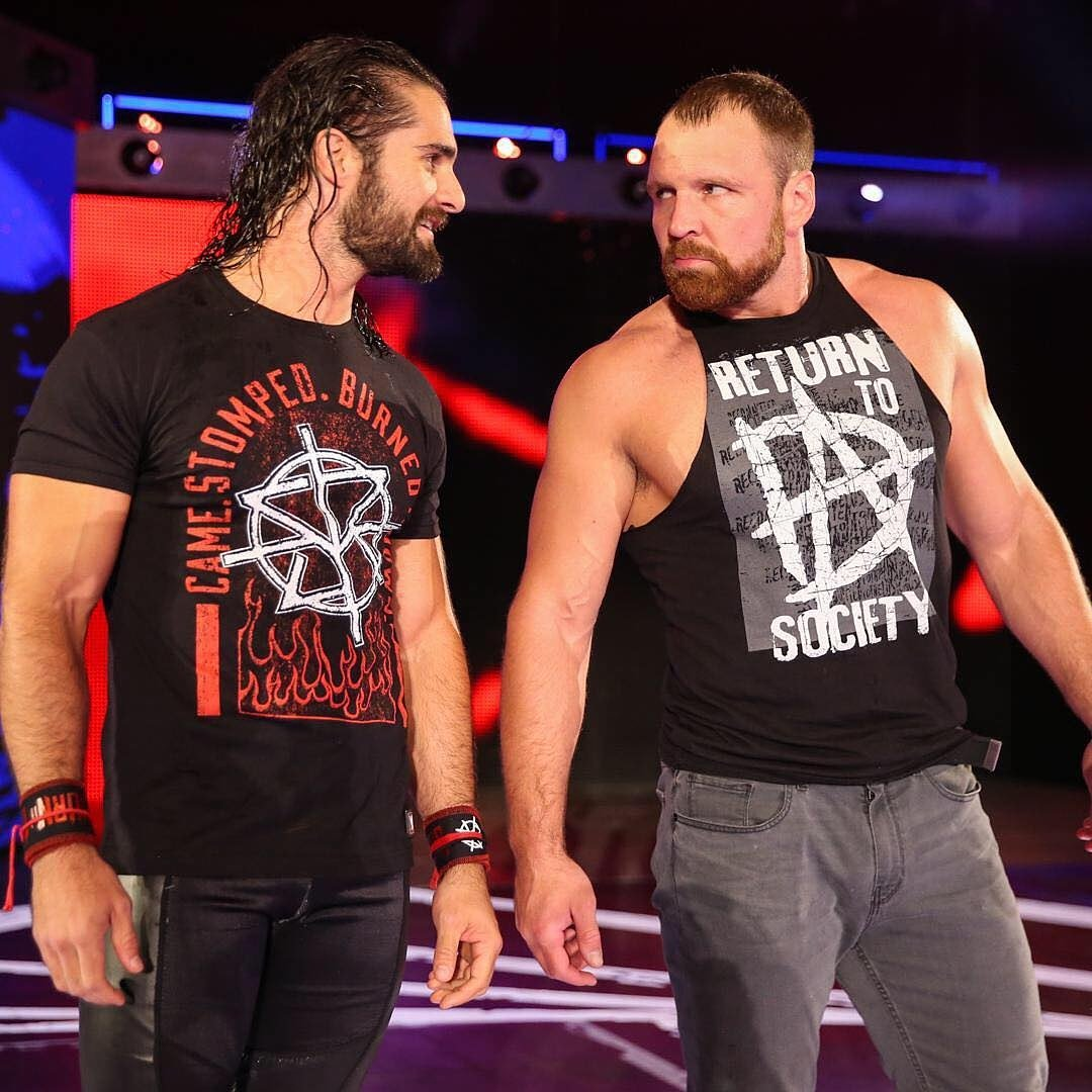 - It&#39;s always good to have a lunatic in your corner! #RAW #SummerSlam - from WWE&#39;s Instagram #DeanAmbrose #SethRollins<br>http://pic.twitter.com/LlXH9w9290