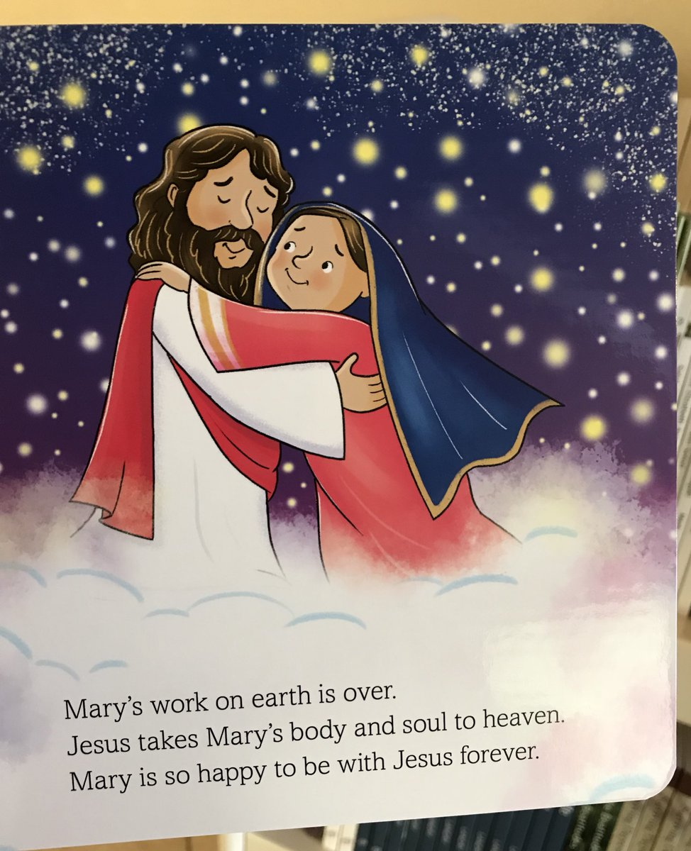 Our new book on Mary written by @HnaMarlyn  explains Mary's life to young children. Here's the page on today's feast of the #Assumption  http://www. PaulineStore.org  &nbsp;  <br>http://pic.twitter.com/sWacJwkMvP