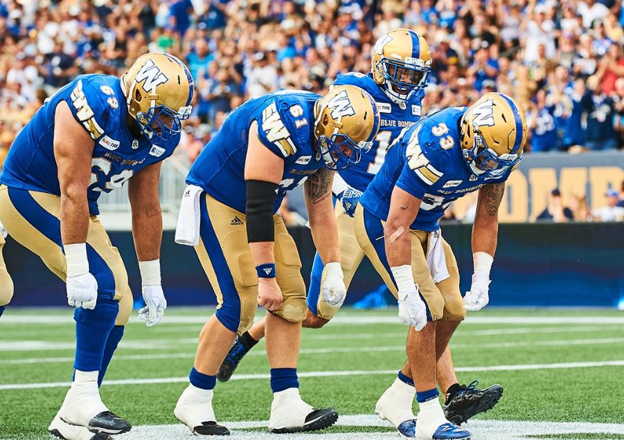 7ebb23320 Which touchdown celebration reigns supreme  Is it one of the   Wpg BlueBombers creative moves