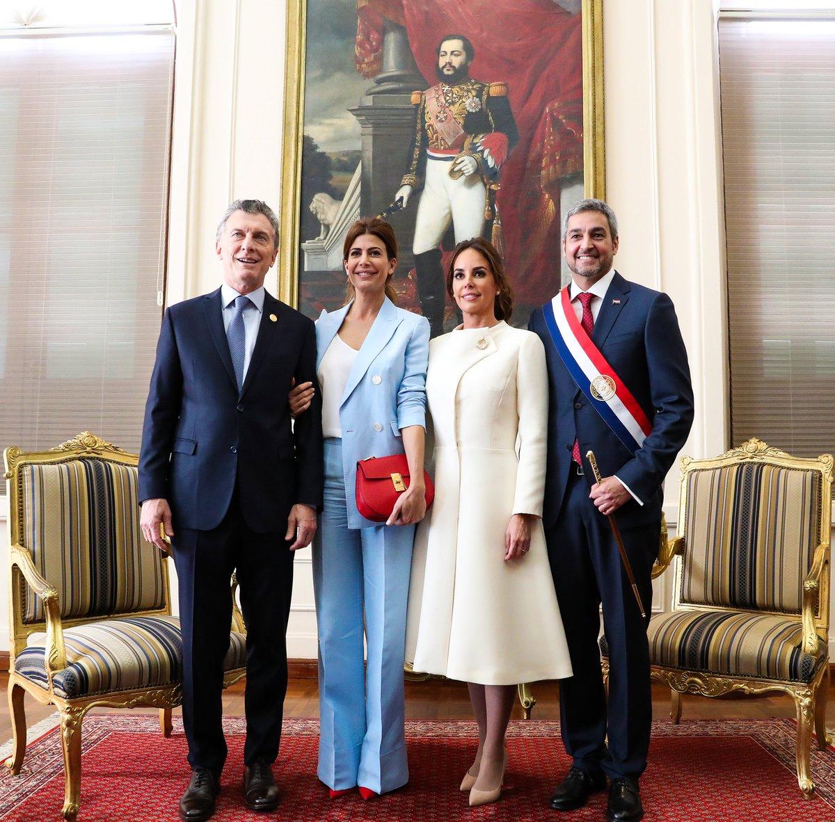 Mauricio Macri's photo on Asunción